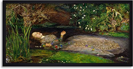 Fine Art Print//Poster John Everett Millais Ophelia