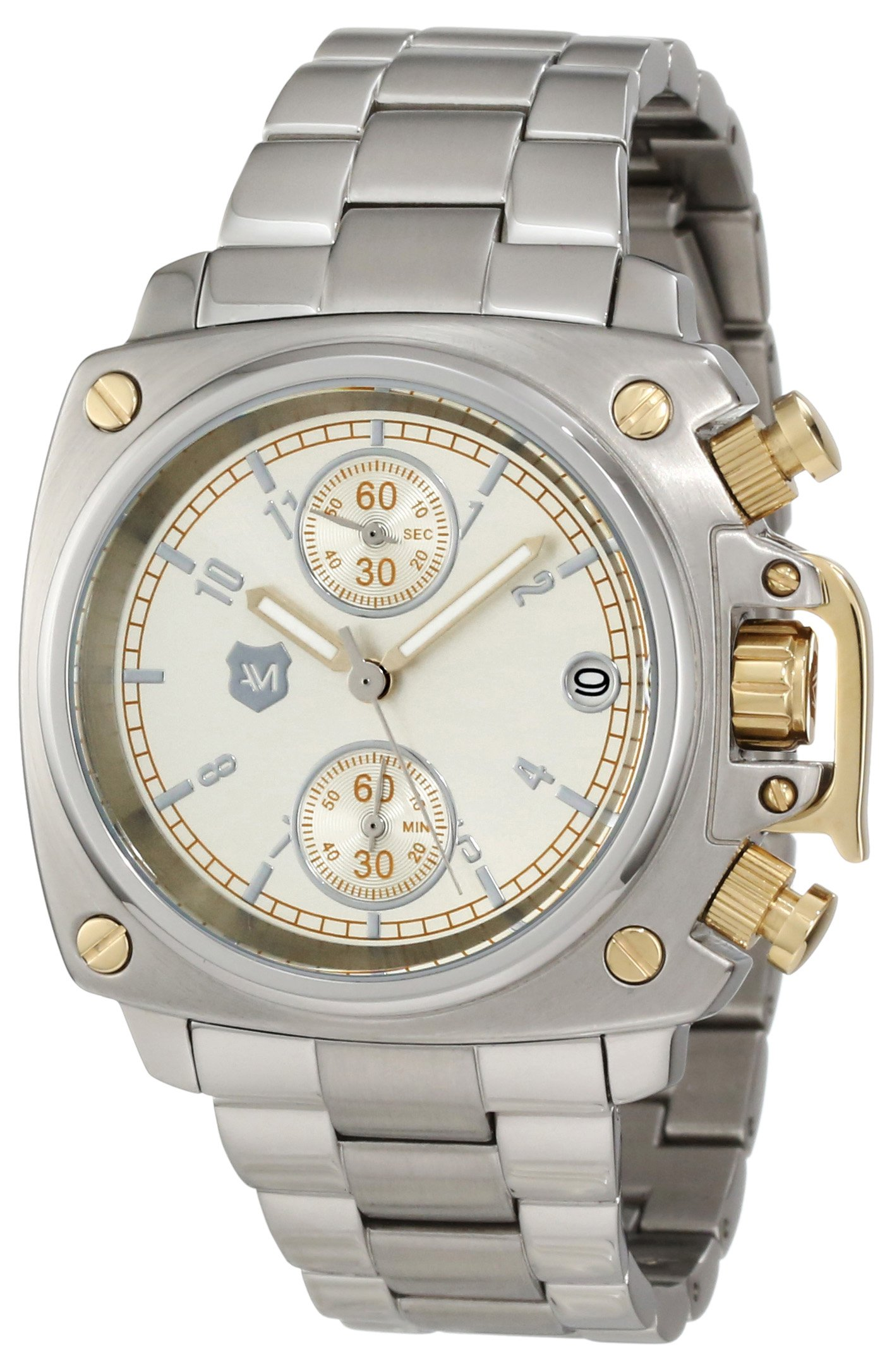 Andrew Marc Women's AM40020 Classic Chronograph Crown Cover Watch by Andrew Marc