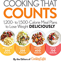 Cooking that Counts: 1,200 To 1,500-calorie Meal Plans To Lose Weight Deliciously (English Edition)