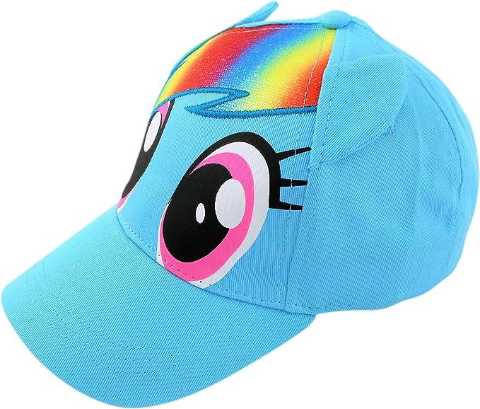Hasbro Little Girls My Little Pony Rainbow DashCotton Baseball Cap Age 4-7