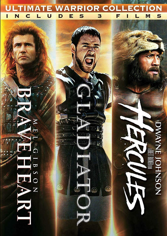 Braveheart / Gladiator / Hercules Triple Feature