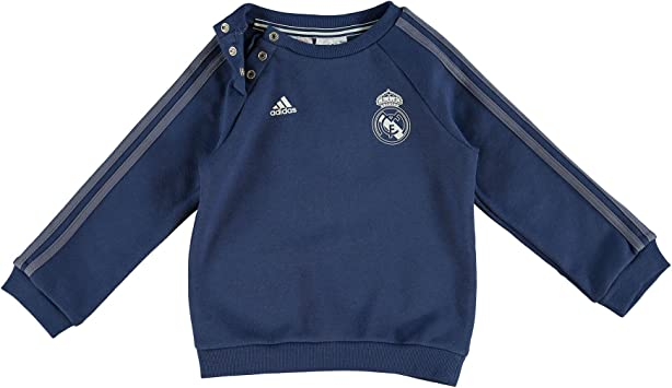 adidas Real Madrid 3S Bbyjogg Conjunto, Morado (Mornat), para ...