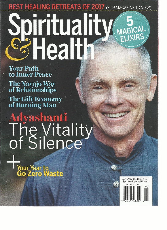 SPIRITUALITY & HEALTH MAGAZINE, 5 MAGICAL ELIXIRS JANUARY/FEBRUARY, 2017 s3457