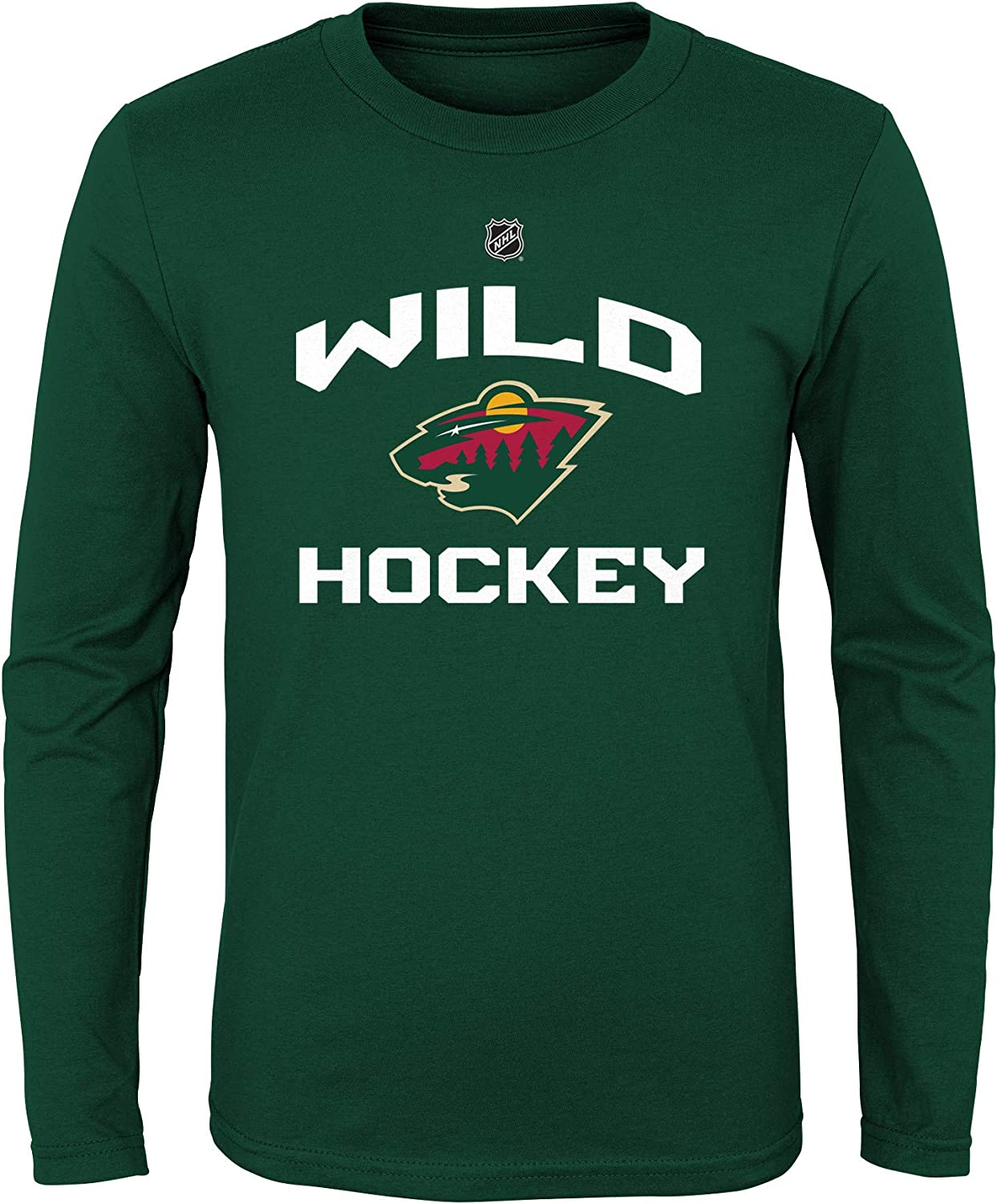 OuterStuff NHL Boys Locker Standard Arch Long Sleeve Tee