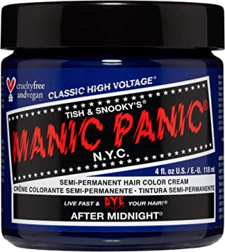 Manic Panic - After Midnight Classic Creme Vegan Cruelty Free Semi-Permanent Hair Colour 118ml