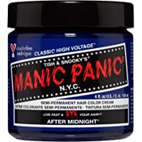 Manic Panic After Midnight Hair Dye – Classic High Voltage - Semi-Permanent Hair Color - Vivid, Navy Blue Shade - For…