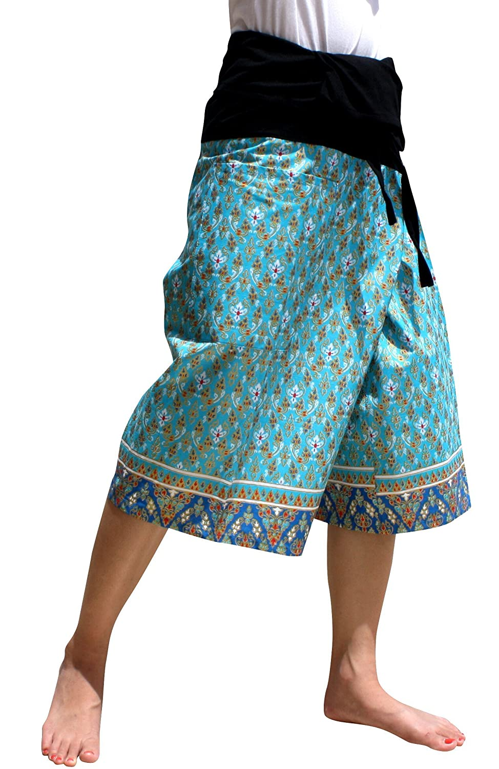 【人気商品】 Raan Pah Muang PANTS メンズ B07G49TW99 Medium|Sukhothai a Deep Sky Blue Sukhothai a Deep Sky Blue Medium, 北十二条書店 31e09188