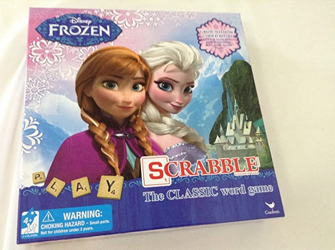 Disney Frozen Scrabble Game: Amazon.es: Juguetes y juegos