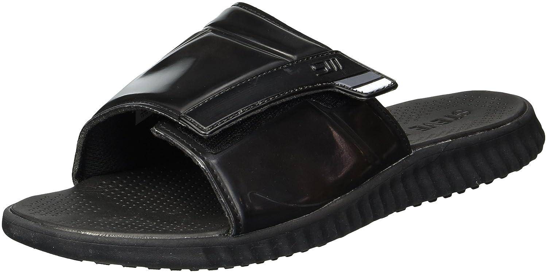 Steve Madden Men's Strand Slide Sandal B077S2VW9W 10 D(M) US|Black