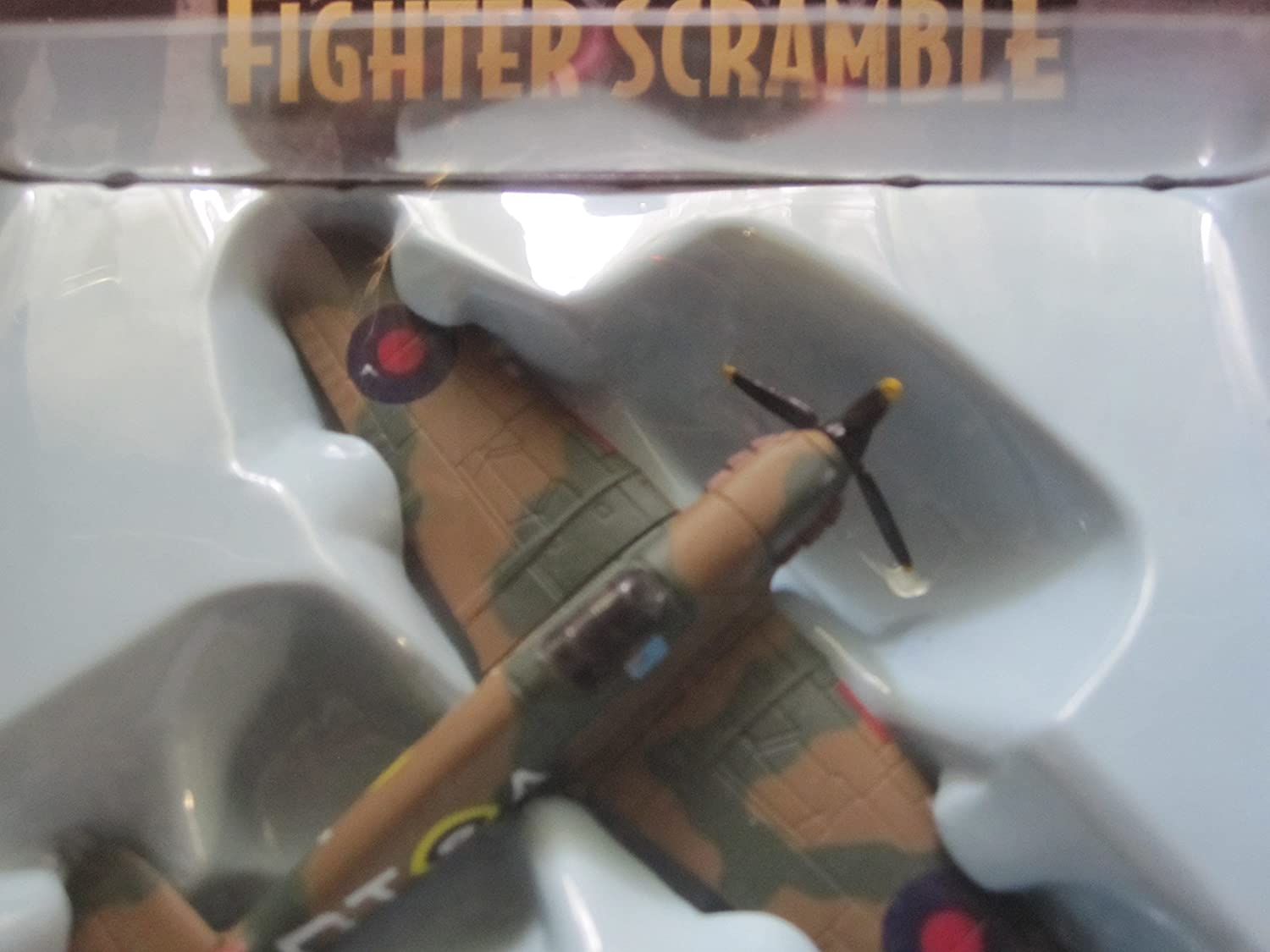 Hawker Hurricane Squadron Leader Stanford RAF British Fighter Plane by Corgi with Display Stand
