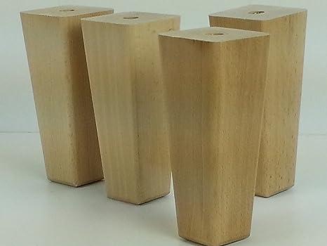 Knightsbrandnu u piedini in legno per mobili gambe mm