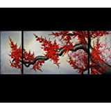 Cherry Blossom Original Abstract Oil Painting on Canvas Art P 20