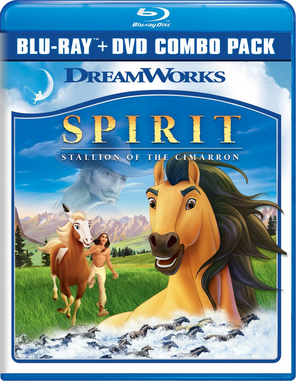 Blu-ray : Spirit: Stallion of the Cimarron (2 Pack, , Dubbed, Widescreen, 2 Disc)