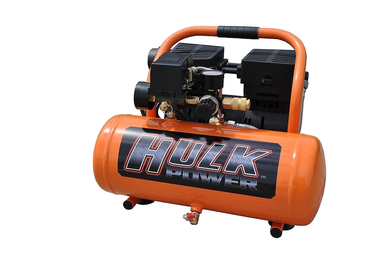 1 HP Quiet Portable Air Compressor, 120 PSI, 2 Gallon, HULK Silent Series, Model HP01P002SS by EMAX Compressor