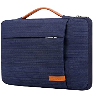 "Lacdo 360° Protective Laptop Sleeve Case Briefcase Bag Compatible 15"" Apple MacBook Pro Touch Bar 2017-2018 A1707 A1990 