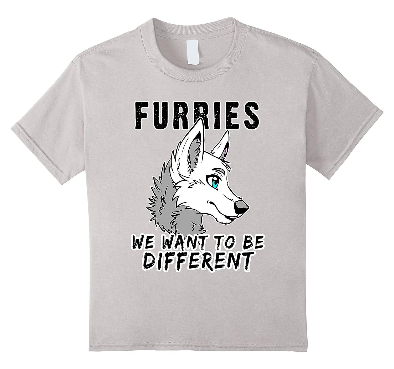 Furries Different Furry Shirt Cosplay-Xalozy