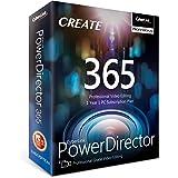 Cyberlink PowerDirector 365   1 Year Subscription - Professional Grade Video Editing