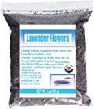 LavenderLove French Lavender Flowers USDA Organic Dried Culinary Lavender 4oz