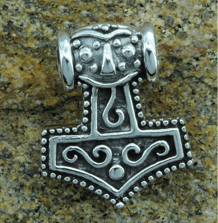 Marteau de Thor Viking Mjolnir Pendentif Argent sterling 925/6/G Beldiamo