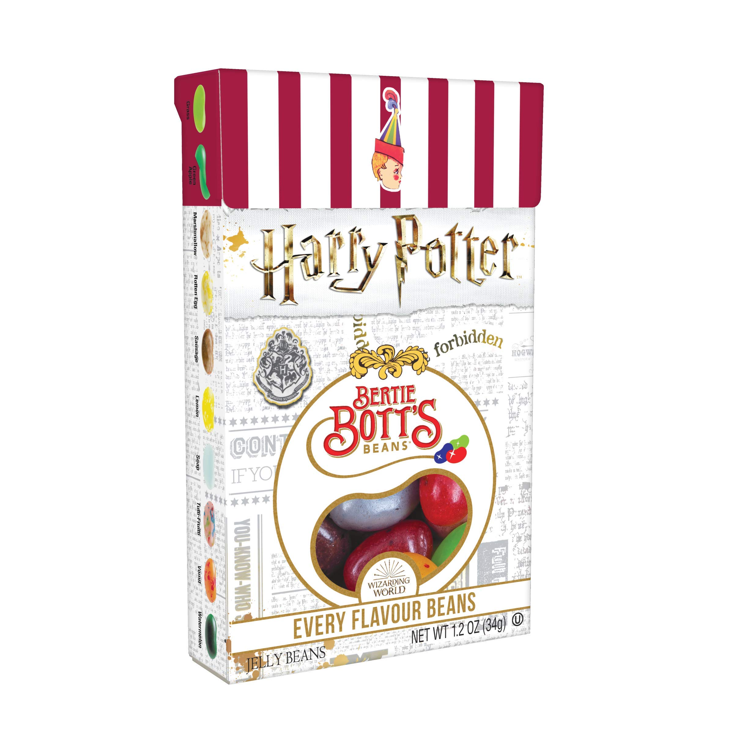 Jelly Belly Harry Potter Bertie Bott's Every Flavor Jelly Beans, 1.2-oz, 24 Pack by Jelly Belly