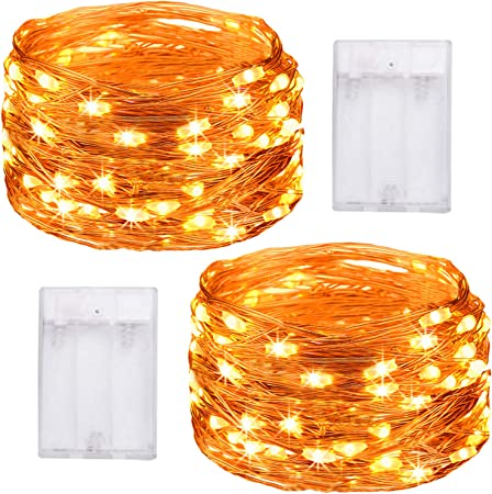 10M 100LED Copper Wire Wedding String Fairy Light Lamp Battery Operated RH