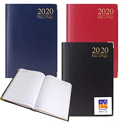 Office Diary Day A Page Desk Diary Desk Diary 2020 A4//A5 Size Week to View