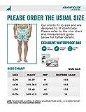 SURF CUZ Men's Floral Print Quick Dry Swim Trunk