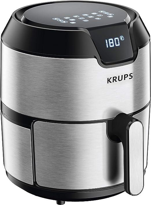 KRUPS 1510001480 EY401 4.2L Digital XL Freidora de aire, 8 presets ...