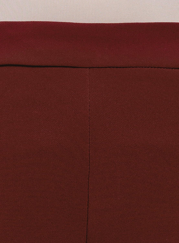 oodji Ultra Mujer Pantalones Ajustados con Cintura Elástica RIFICZECH  s.r.o. 11706196B 4053389d89de