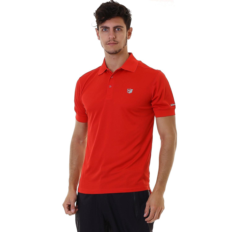 Wilson Staff Mens Authentic Polo Red Tamaño M: Amazon.es: Deportes ...