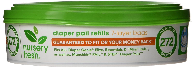 Nursery Fresh Diaper Pail Refill-8 Piece Munchkin 16126