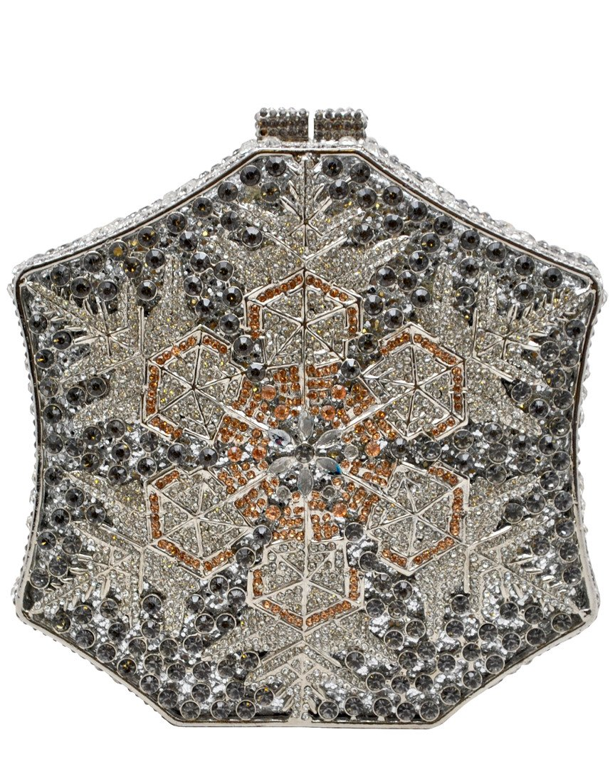 La Regale Snowflake Clutch