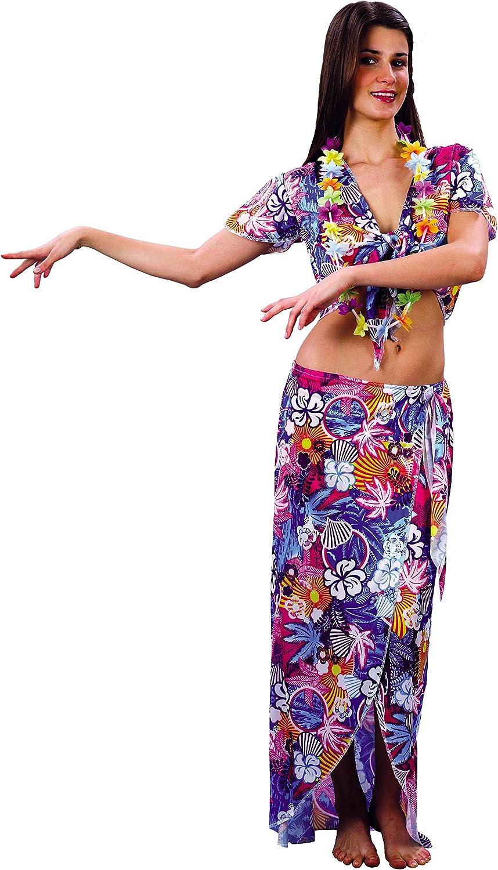 Rire et Confetti Fichaw003 - Disfraz de hawaiana para mujer (talla ...