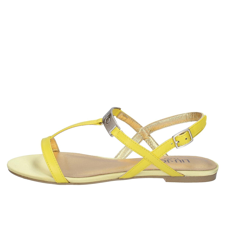 - Liu Jo Sandals Womens Leather Yellow