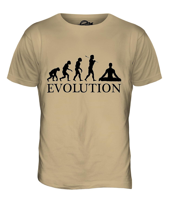 De la evolución de Man Yoga - para Hombre T-Camiseta de ...