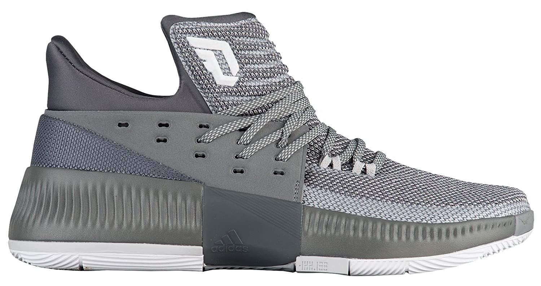 adidas uomini d lillard 3 basket scarpa b0753wsstn 9 d (m) usgrey