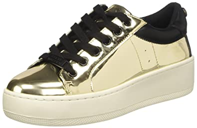 4d89083dad9 Steve Madden Women s Bertie Fashion Sneaker Oro (Gold Mirror) 7 UK  Buy  Online at Low Prices in India - Amazon.in
