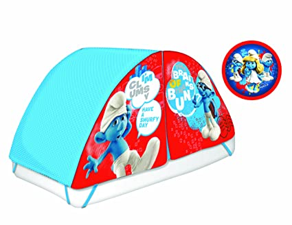 Amazon.com: Smurfs Bed Tent with Pushlight: Toys & Games