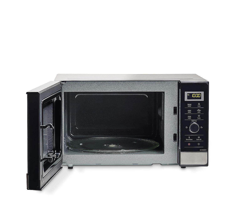 Panasonic NN-SD28HSGTG Piano di lavoro Solo microonde 23L 1000W Nero Acciaio inossidabile forno a microonde