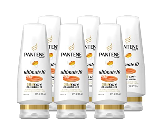 Pantene Pro-V Ultimate 10 BB Conditioner, 12 FL OZ (Pack of 6)