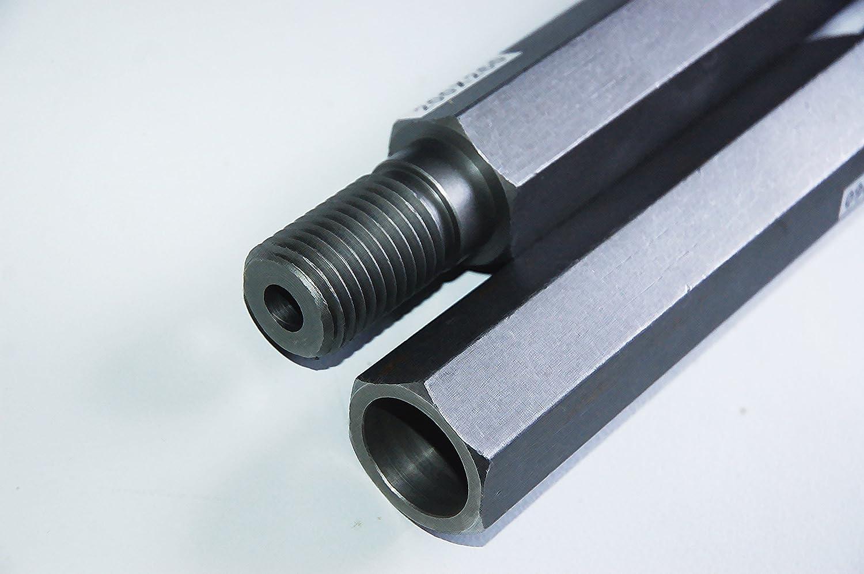1/¼  UNC Diamant corona de perforaci/ón diamantina corona 44 mm x 400 mm