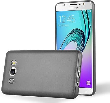 Cadorabo Funda para Samsung Galaxy J5 2016 en Metallic Gris ...