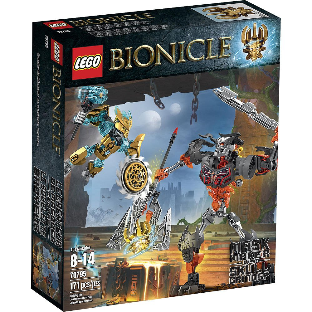 LEGO Bionicle Mask Maker vs Skull Grinder 70795 レゴバイオニクルマスクメーカー & スカルグラインダー [並行輸入品]   B0137CO5TE
