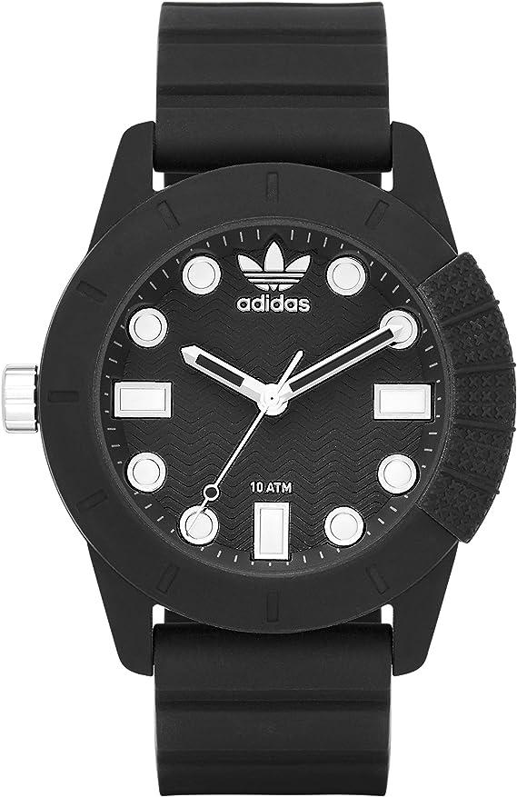 adidas Originals Reloj Digital para Hombre de Cuarzo con Correa en Silicona ADH3101: Amazon.es: Relojes