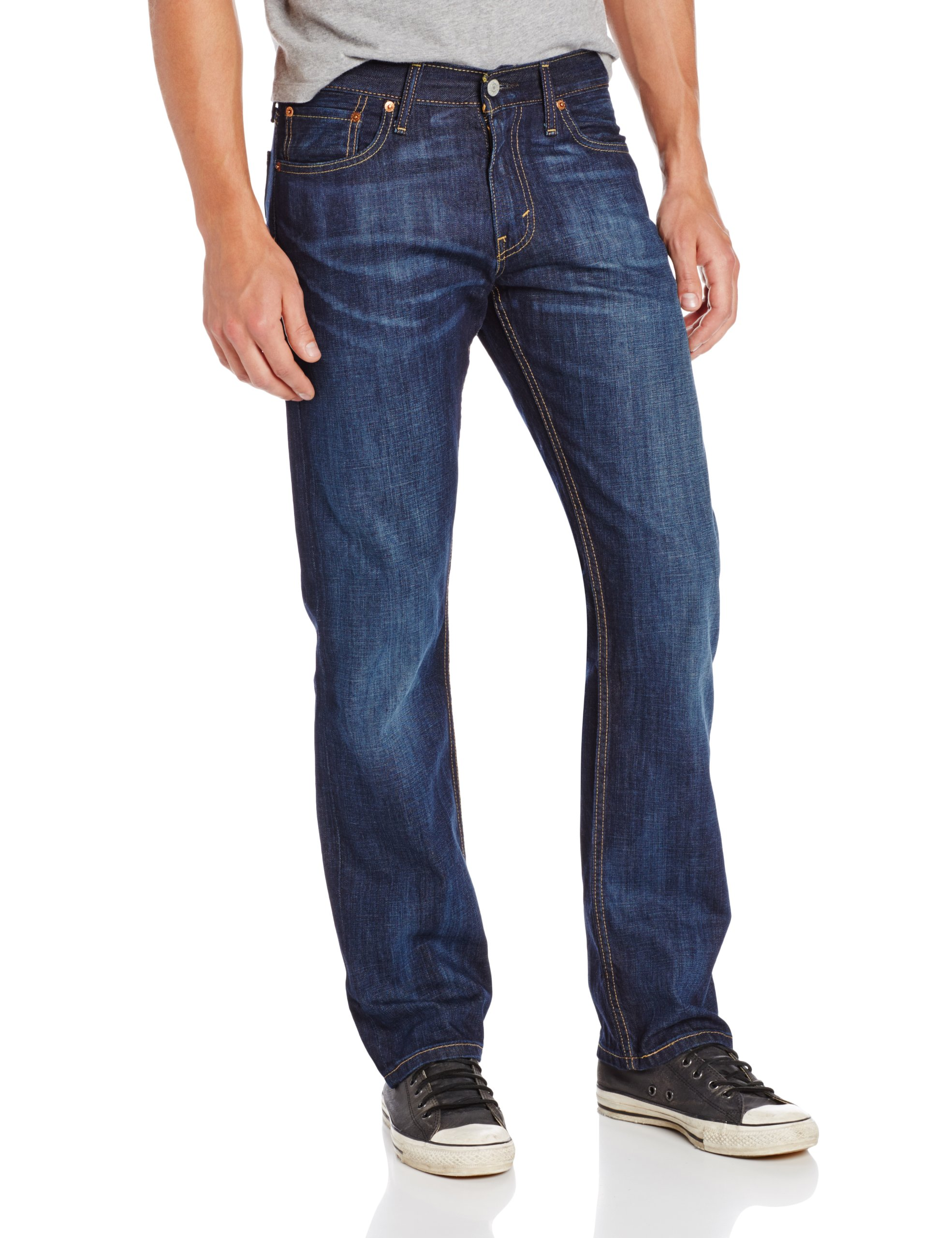 Levi's Men's 514 Straight fit Stretch Jean, Shoestring, 32x32