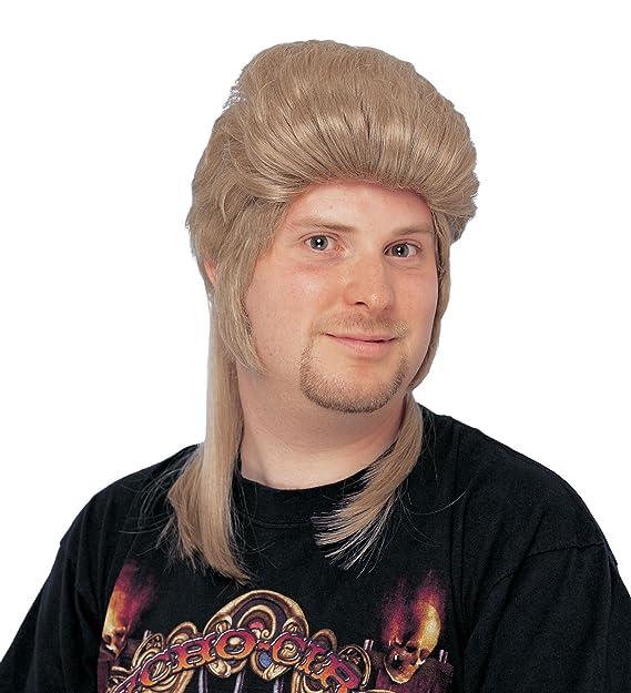 Amazon.com: Disfraz Cultura de los hombres Mullet peluca ...