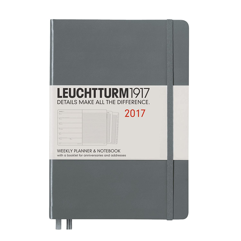 LEUCHTTURM1917 Agenda 2017 Semana Vista / Notas,A5 Medium ...
