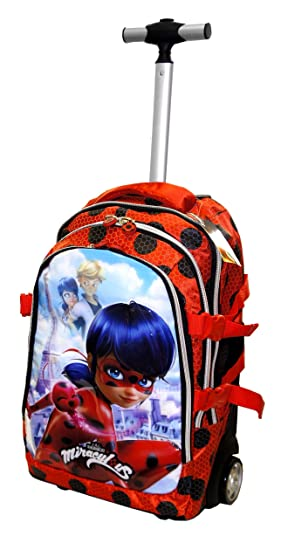Ladybug Marinette - Mochila Trolley Travel - Karactermania: Amazon.es: Equipaje