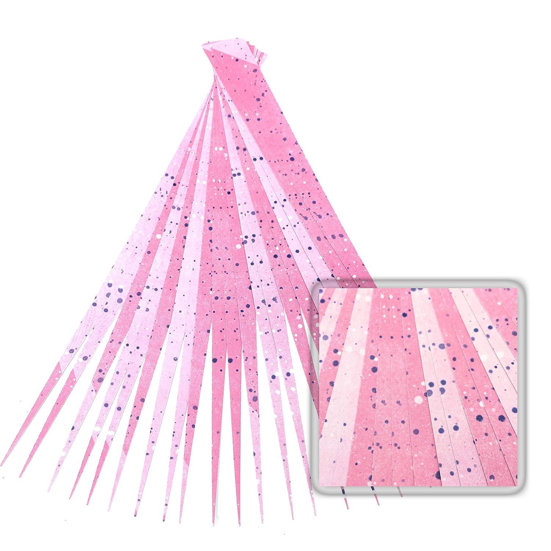 Precut paper bead strips to make