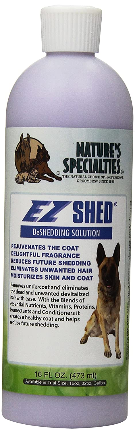 Nature's Specialties EZ Shed Conditioner for Pets, 16-Ounce Nature?s Specialties Mfg SHED16ounces